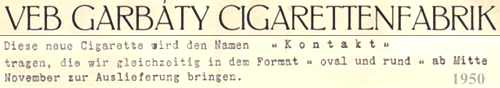 DDR-Cigaretten